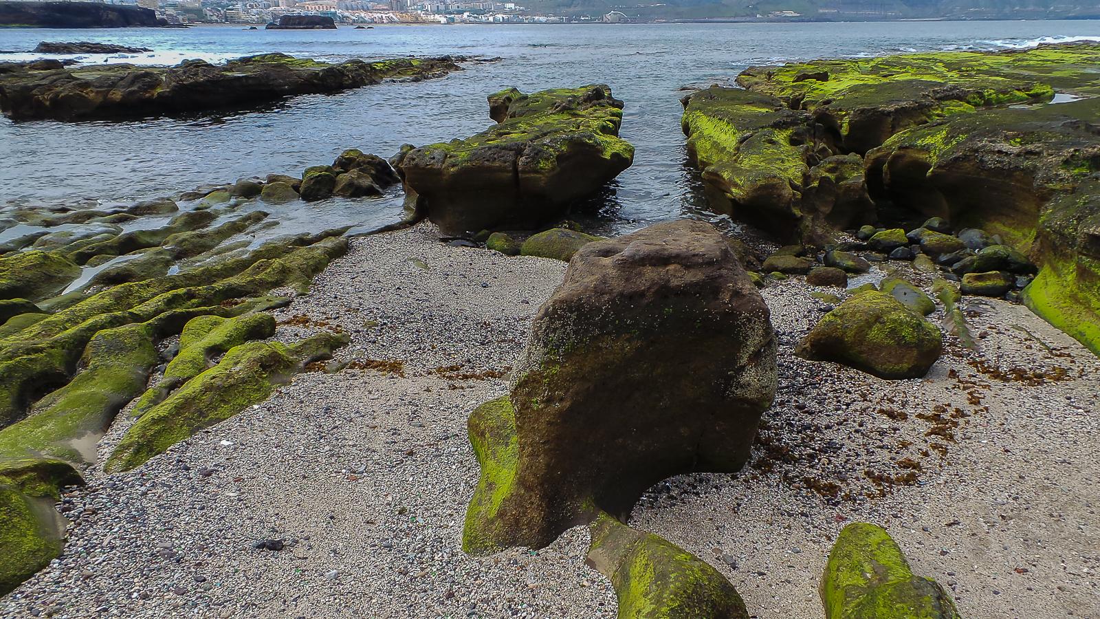 Playa el confital las palmas de gran canaria isla de gran canaria - Isla de las palmas de gran canaria ...