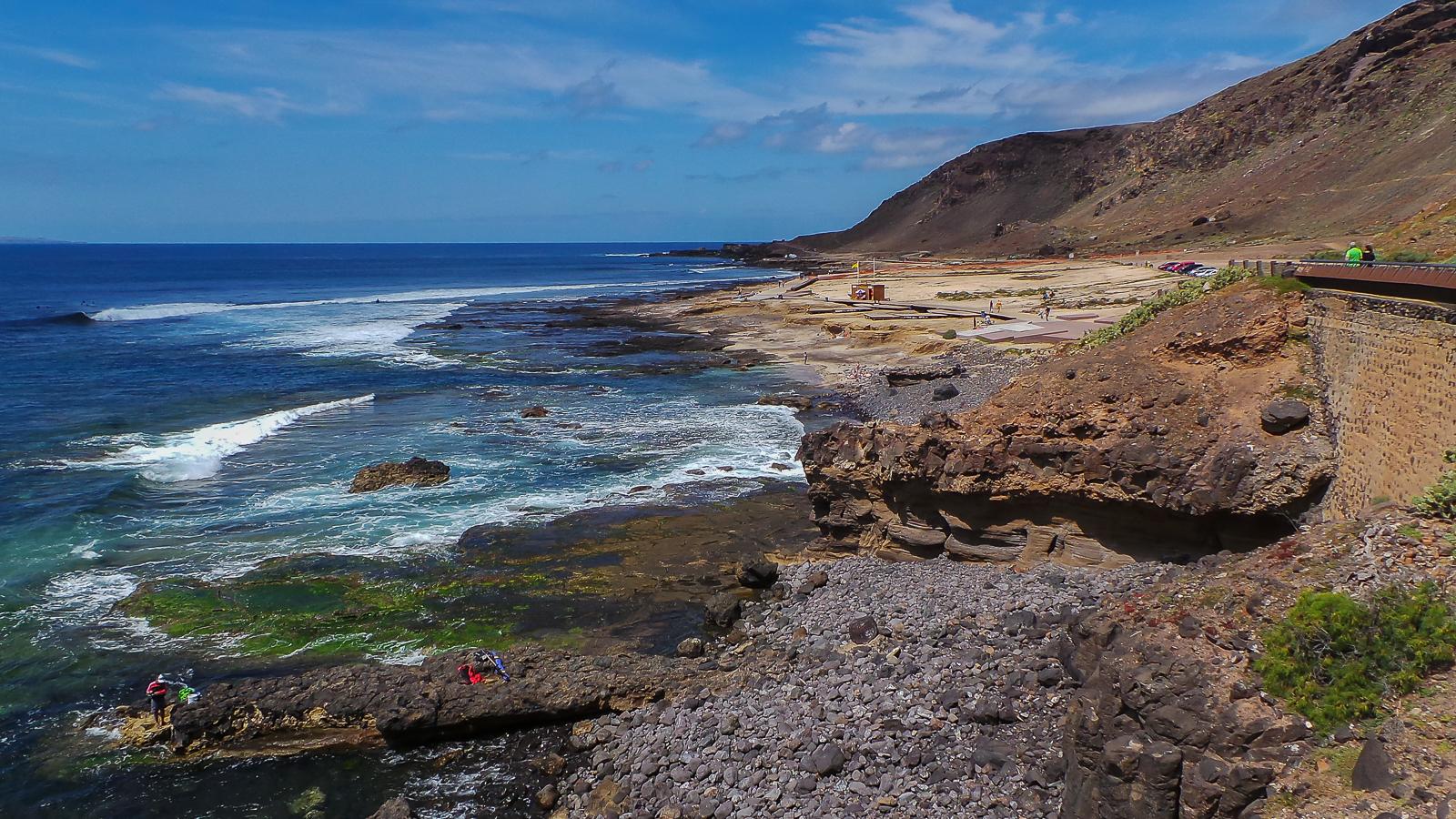 Playa el confital las palmas de gran canaria isla de - El baul gran canaria ...