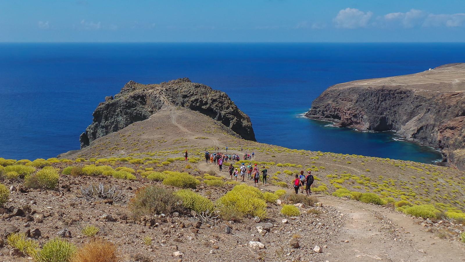 Playa el juncal costa de agaete en gran canaria isla de - El baul gran canaria ...